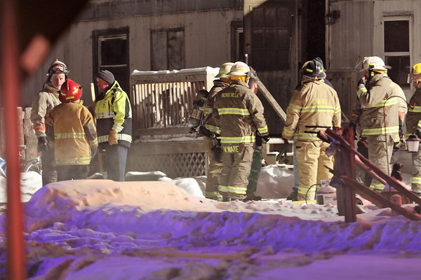 TRAILOR FIRE IN NORTH LAWRENCE