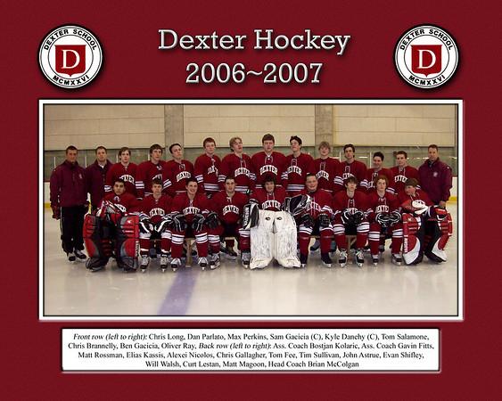 Dexter Hockey Team Pics