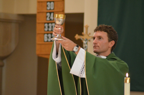 Welcome Father Justin Blanc