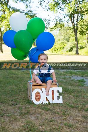 Nate's 1st Birthday photos