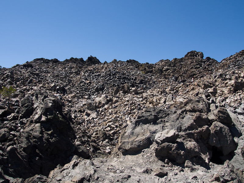 lots of really big obsidian