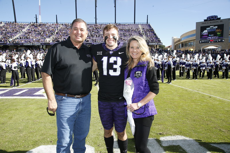 TCU vs Baylor Football at Amon Carter Stadium on November 24, 2017. (Photo/Ellman Photography)
