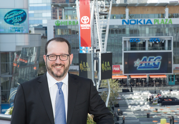 . <b>14. Dan Beckerman, 47, AEG President and CEO </b> <br>AEG property Staples Center hosted the NHL All-Star Game in 2017 and will host L.A.�s record sixth NBA All-Star game in 2018 ... (Photo courtesy of AEG)