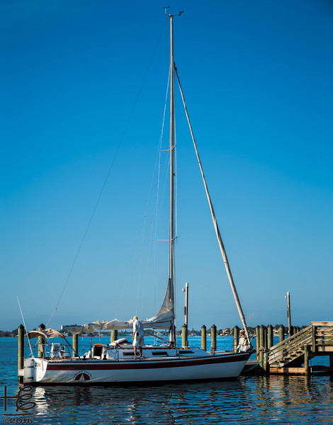 Sailboat @ Hart's Landing