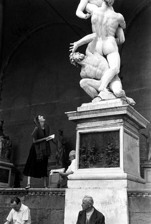 Ruth Orkin  / An American Girl In Italy, 1951
