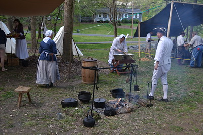 Revolutionary War Encampment Re-enactment at Legion Park