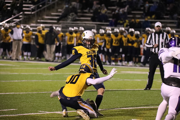 Saline Football vs Pioneer Oct 30 2020 District