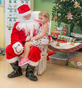 Community Pre-School Santa Visit