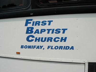 FBC Bonifay, FL
