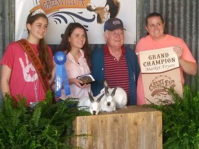 Hunt County Fair 2019: Market Fryers