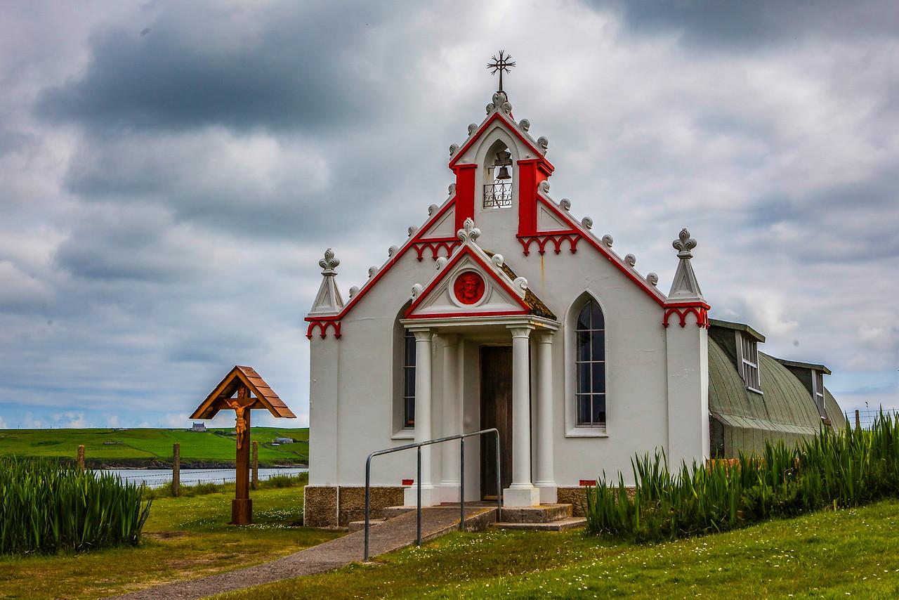 奥克尼意大利教堂(Italian Chapel),独树一帜