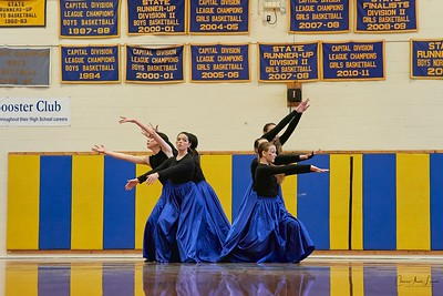 Dance Competition At Lamoille Union High School