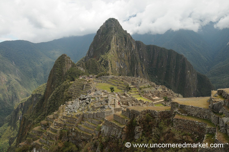 A View of Machu Picchu, Peru