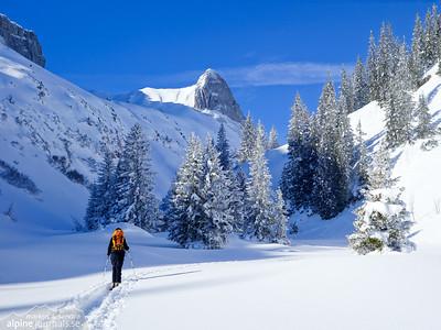 Untere Gottesackerwände ski tour 2015-02-07