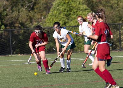 10/4/17: JV Field Hockey vs Greenwich Academy