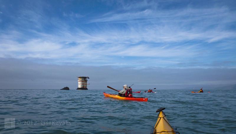 Mile Rocks Lighthouse, and Mile Rocks.
