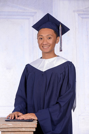 Cap and Gown - Gary