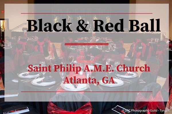 Black and Red Ball 2018