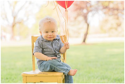 Capturing Mr. O's 1st Birthday! | Denver Colorado Children's Photographer