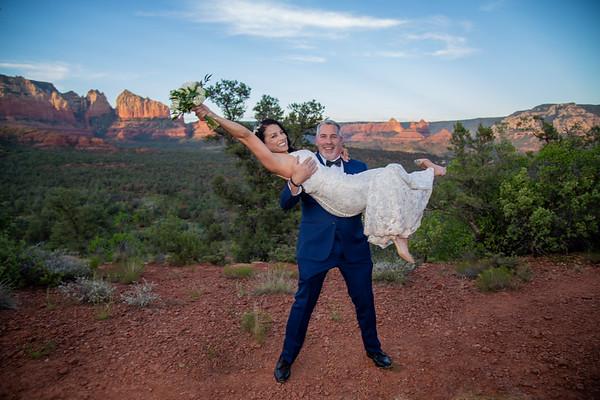 Lisa & Michael's Sedona Wedding