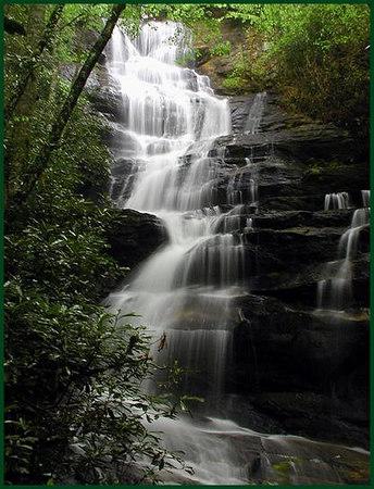 Grassy Ridge Falls NC near Cullowhee