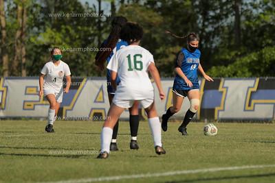 East Bladen 4/14/21 East Columbus girls soccer