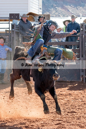 2018 Junior High Rodeo (Saturday) - Bareback Riding