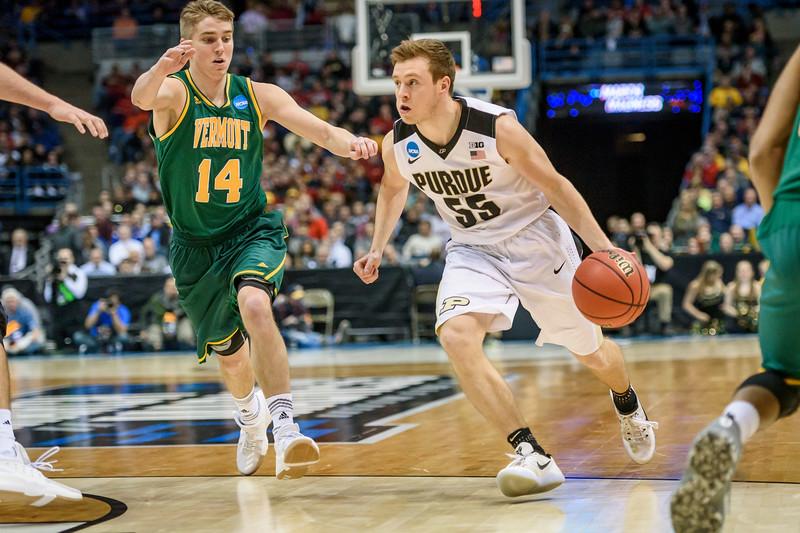 3/16/17 NCAA Tournament, Vermont, Spike Albrecht