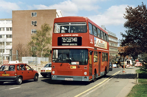 13th April 1995: North London