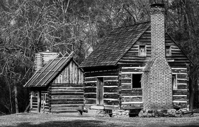 Slave Quarters circa 1800 North Carolina 2 (1 of 1)