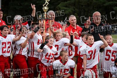 Bulldogs JV vs Redskins JV - 10-27-2012 - Championship