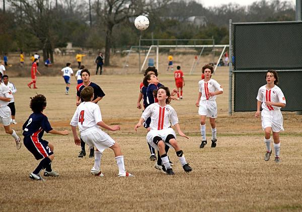 Lonestar Soccer vs Solar 2.3.2008