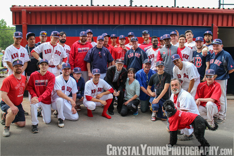 Brantford Red Sox with Walter Gretzky