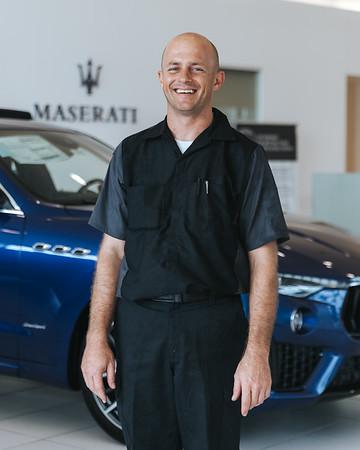 Maserati Headshots