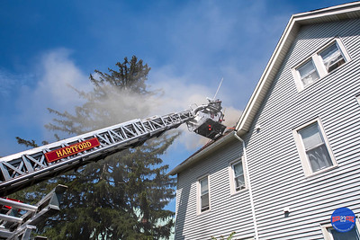 2 Alarm Structure Fire - 108 Capen St, Hartford, CT - 6/15/19