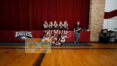 Cashton JH girls' basketball GBB1819