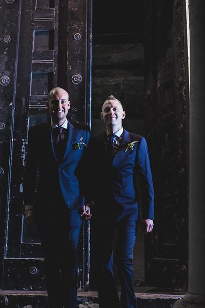 Tom and Patrick, London Documentary Wedding Photography