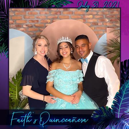 Faith's Quinceañera