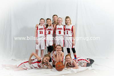 Kingston Springs Lady Cardinals 5th Grade Girls Team Pictures