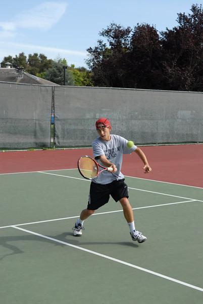2007 - Menlo Tennis - Freshman - Jamin