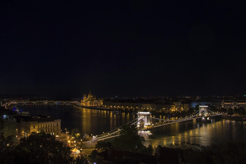 Timelapse video of the fireworks on St Stephen's day in Budapest, in 2017