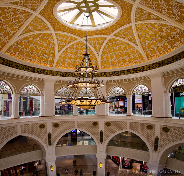 Interior of the Dubal Mall.