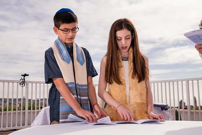 B'nei Mitzvah of Ari and Orly