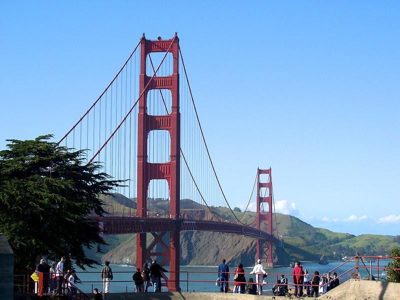 San Francisco - March 2003 Golden Gate Bridge