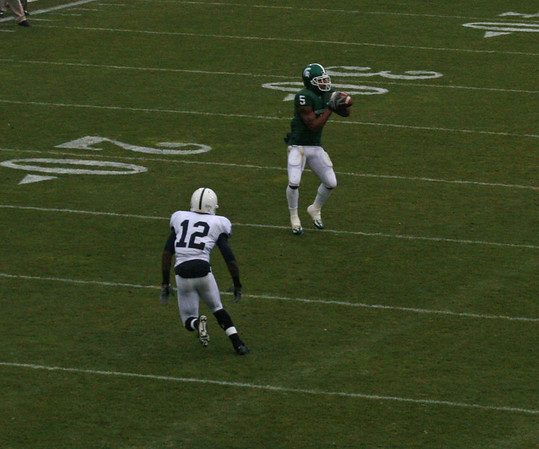 PSU at MSU football 2007
