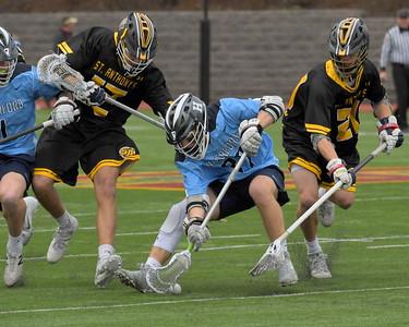 Varsity Lacrosse Action