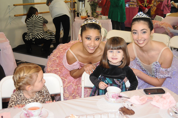 Afternoon Tea with the Sugar Plum Fairy