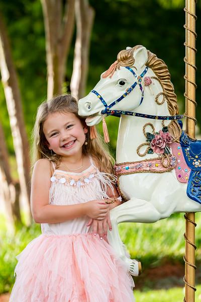 Carousel Horse Mini Session