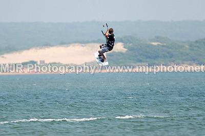 Kite Boarding, Montauk, (7-15-07)