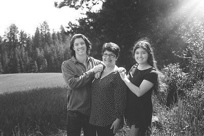 Kintner Family Photos - Kamiak Butte